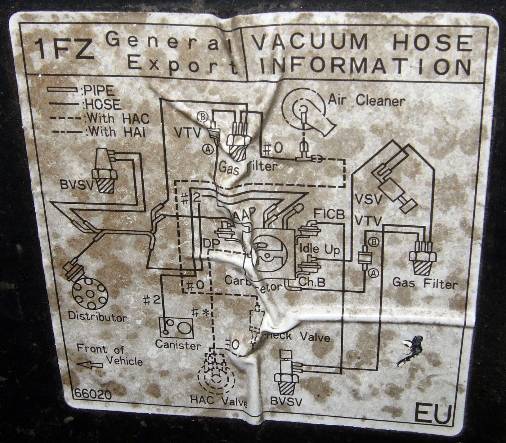 схема подключения трубок вакуума карбюратора 2е